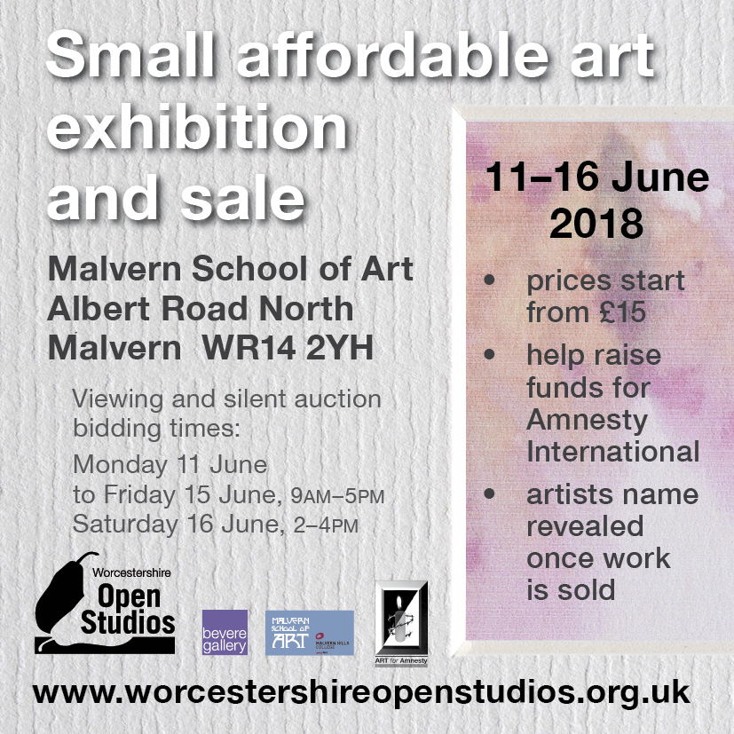 Small affordable art exhibition and sale