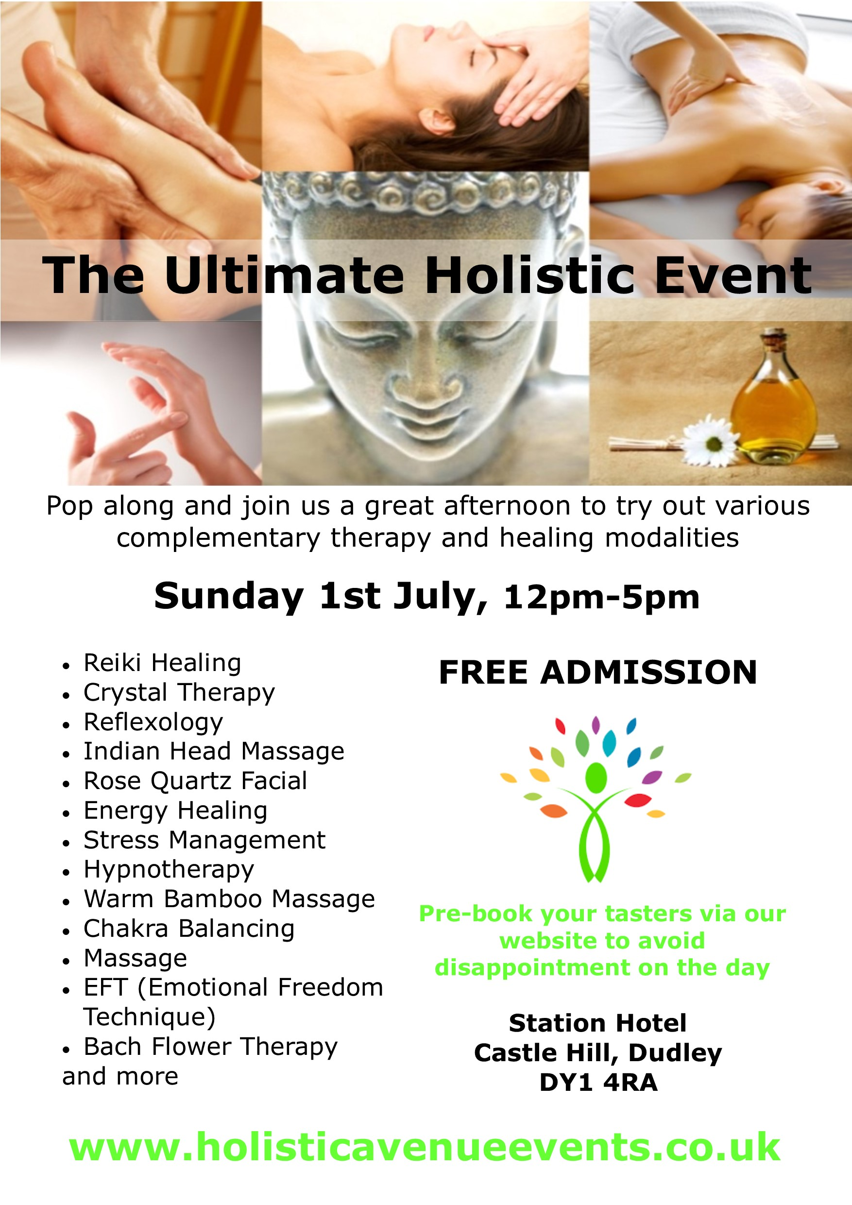 Ultimate Holistic Event on 1st July