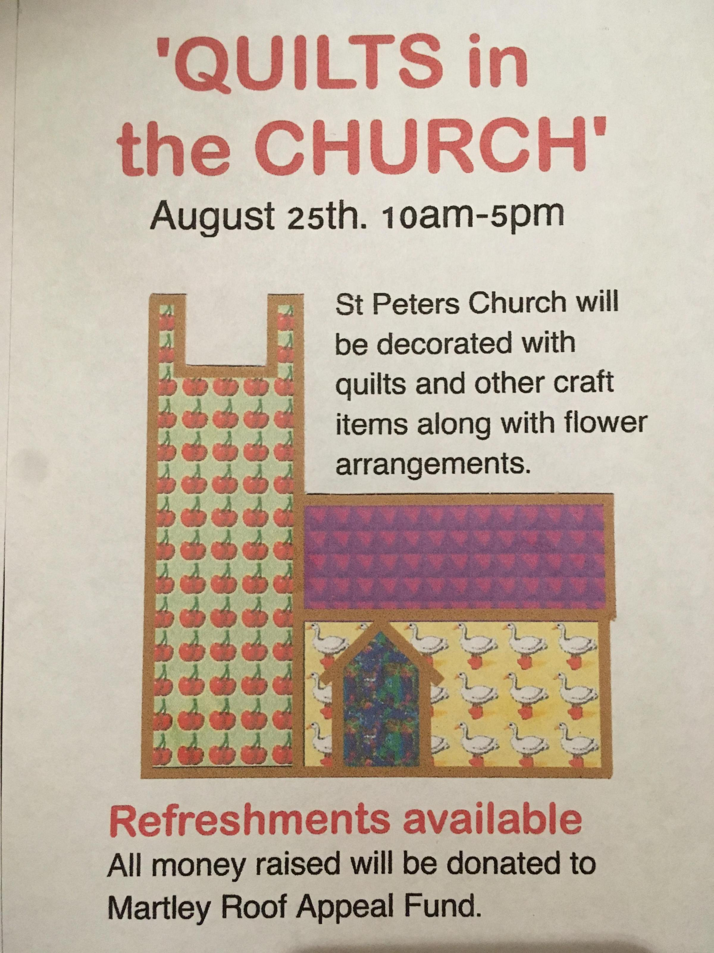 Quilts in the Church