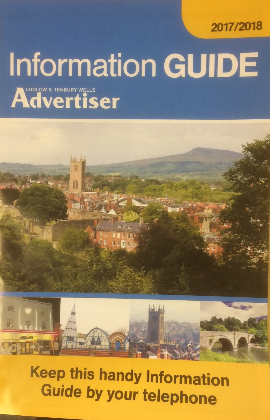 A new Ludlow Information Guide is out soon