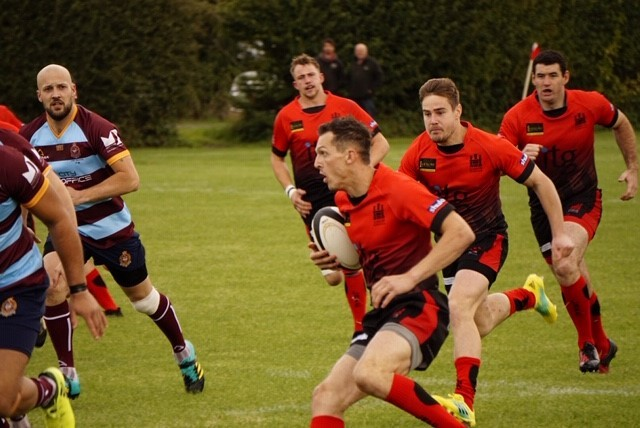 Ludlow suffered their second defeat of the season. Pictured against Camp Hill earlier in the season