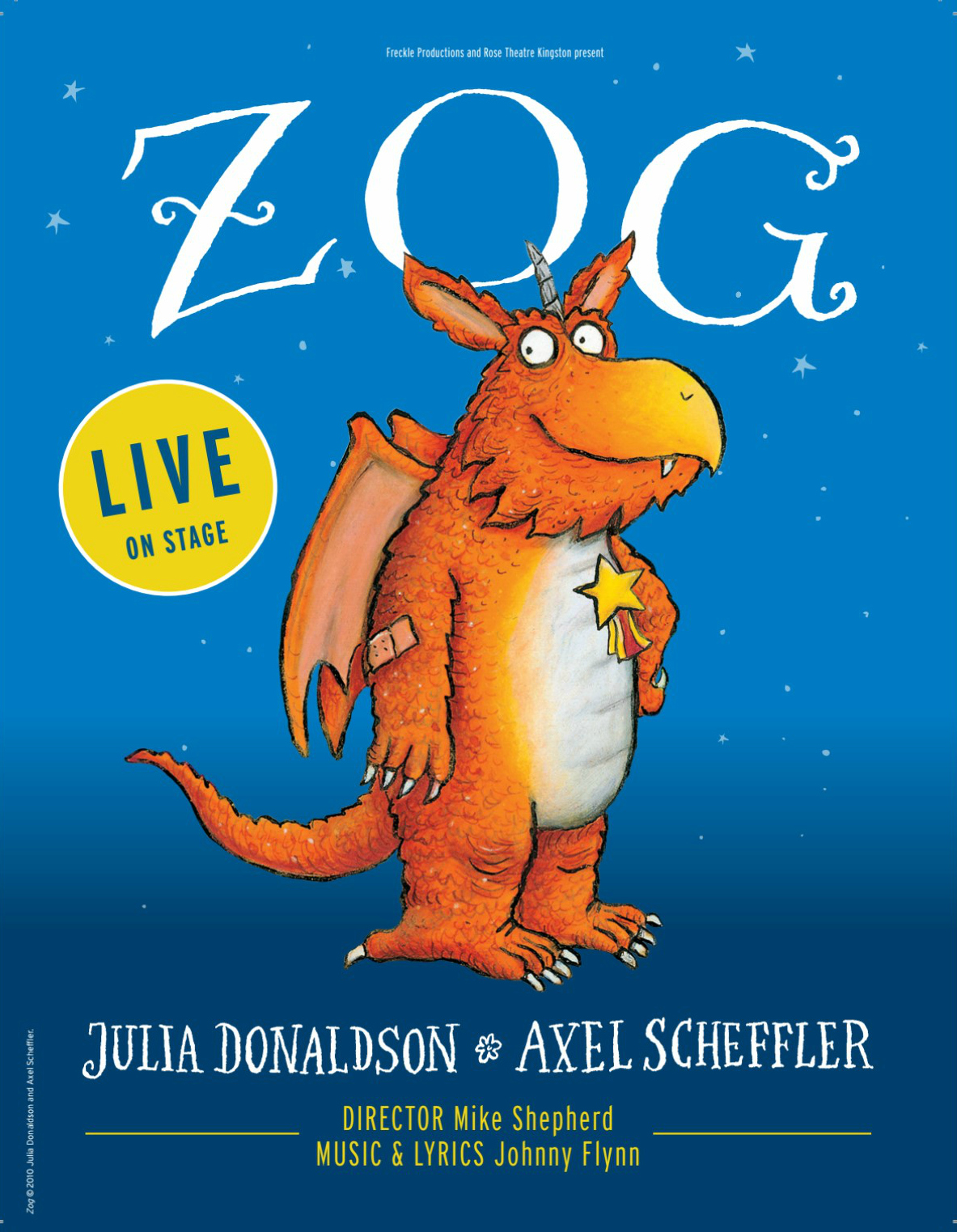 Freckle Productions and Rose Theatre Kingston present: Zog