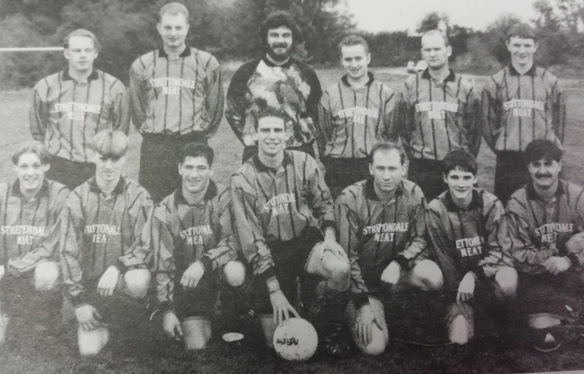 The Clun Valley Football Club 25 years ago