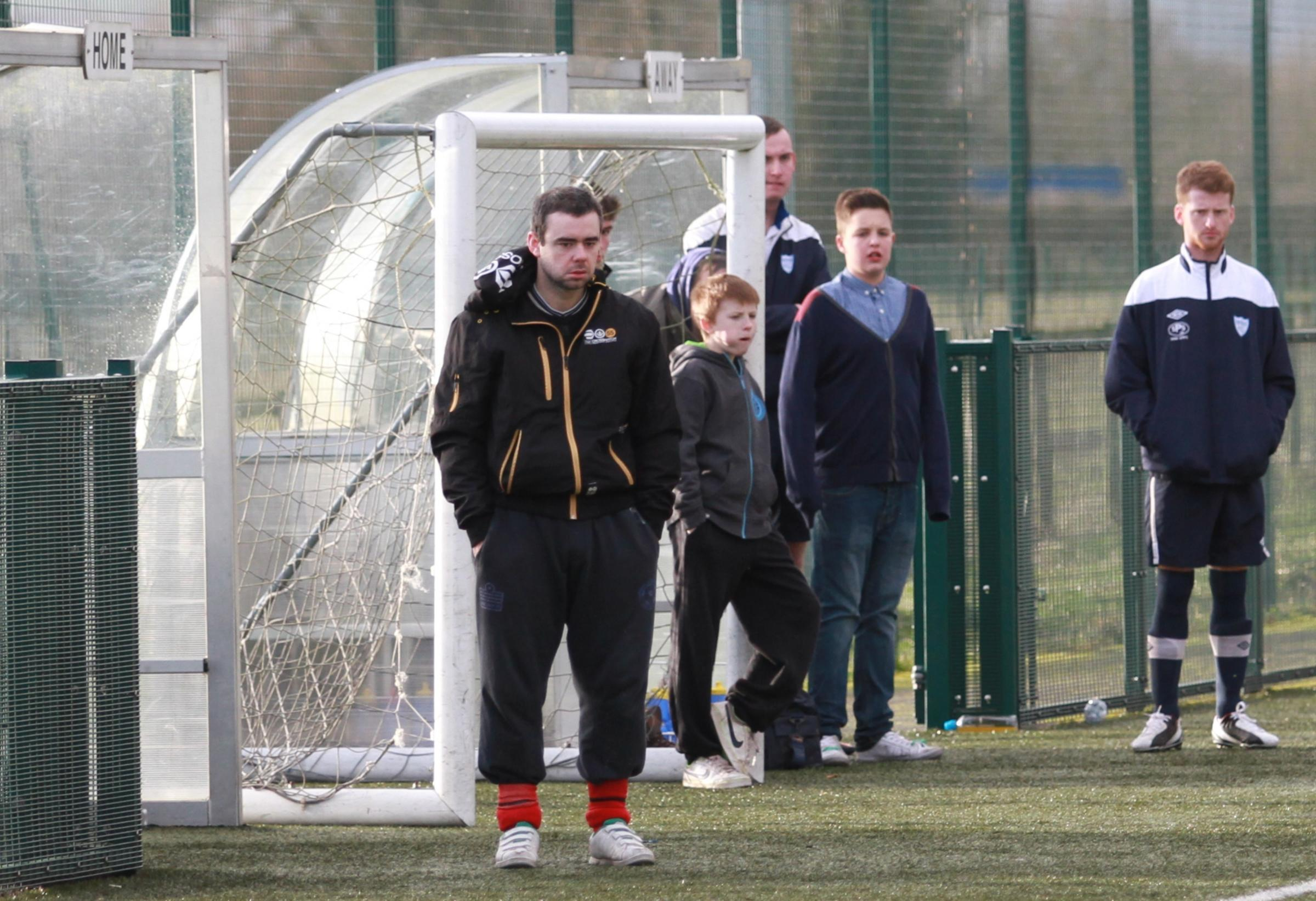 Ludlow manager Chris Waldron (pictured left) says that last weekend's heavy defeat saw their league chances end