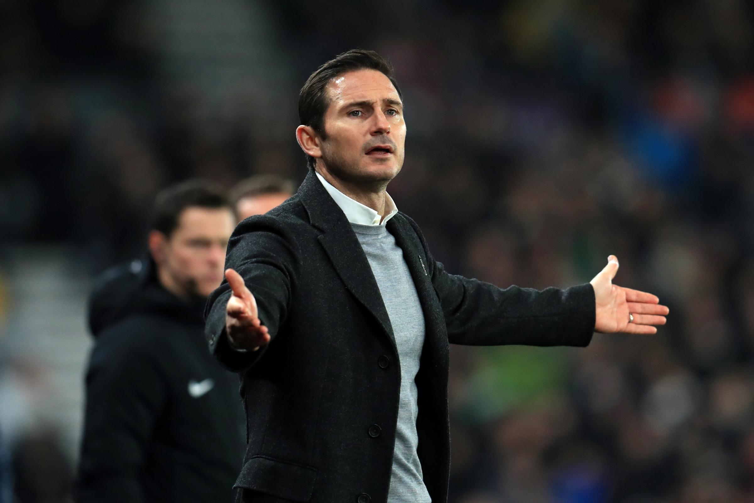 Frank Lampard hit out at his opposite number
