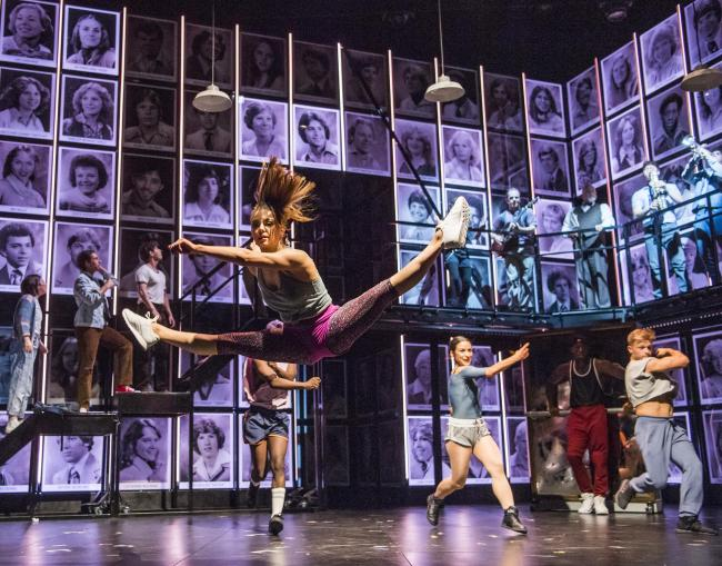 A scene from Fame The Musical Tour