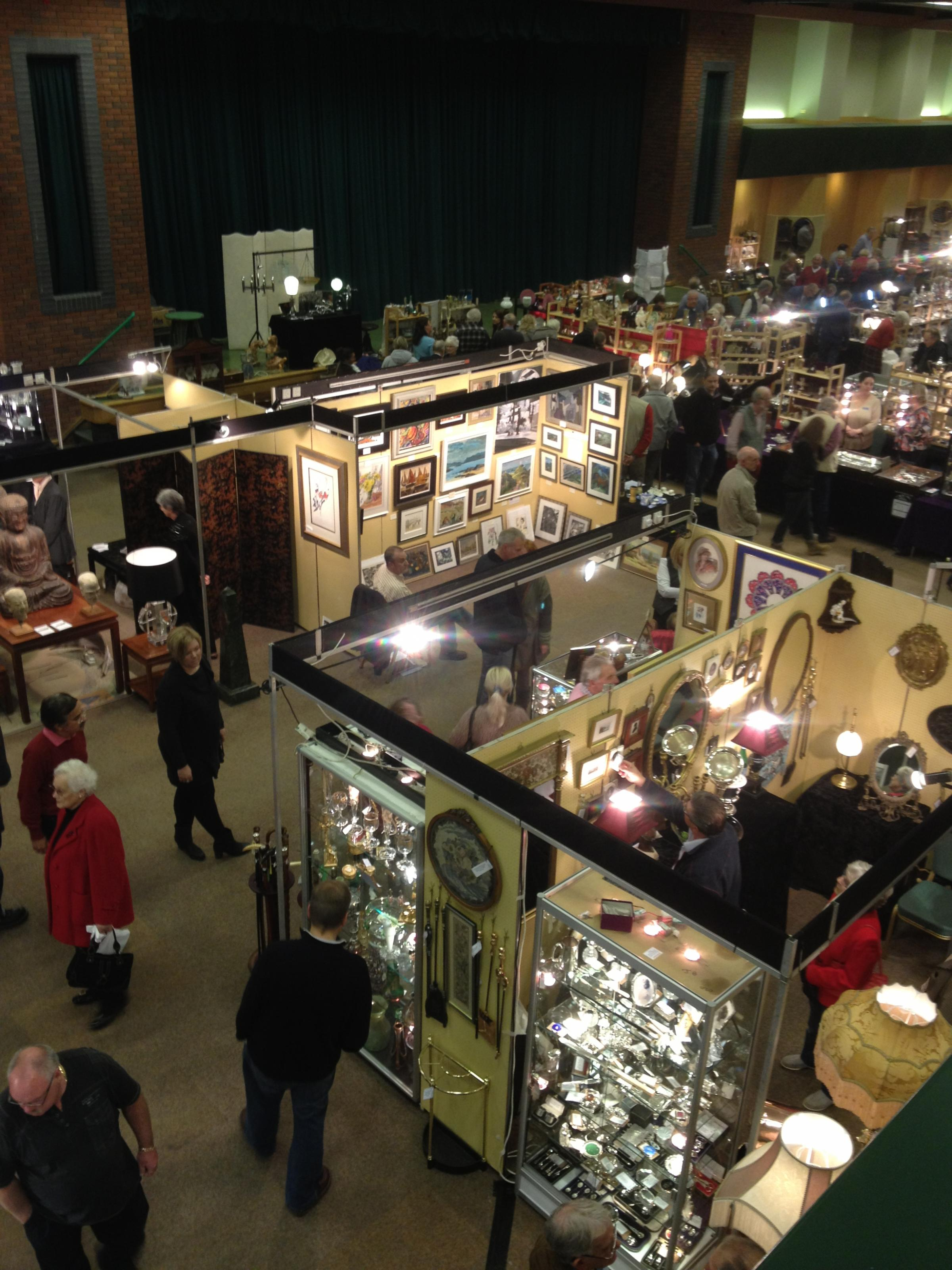 The Worcestershire Antiques Fair