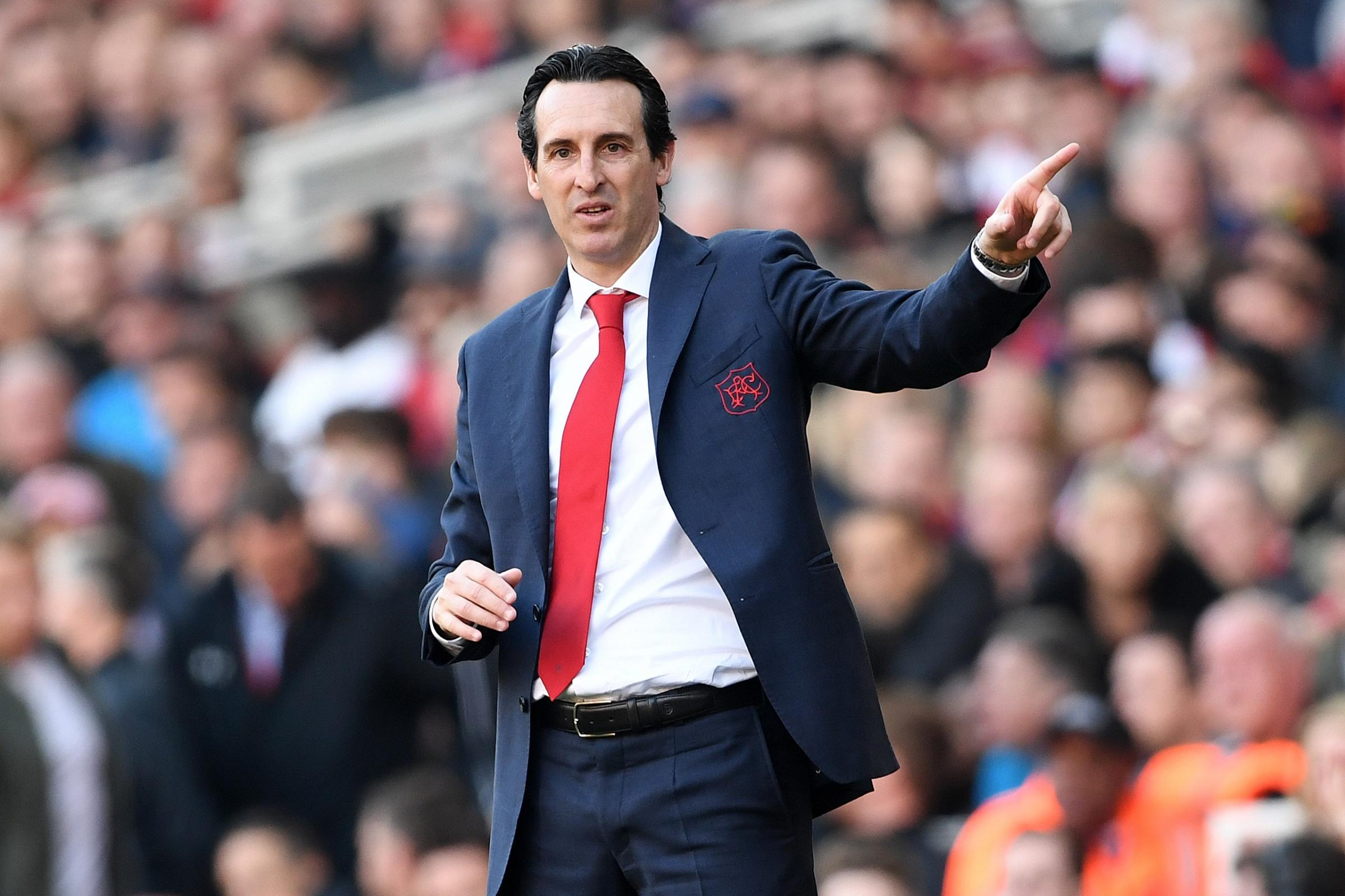 Unai Emery wants his side to challenge for the Europa League trophy