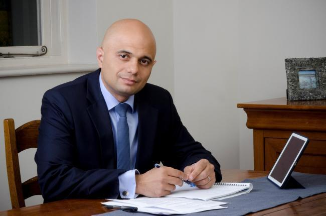 Bromsgrove MP and Chancellor of the Exchequer Sajid Javid