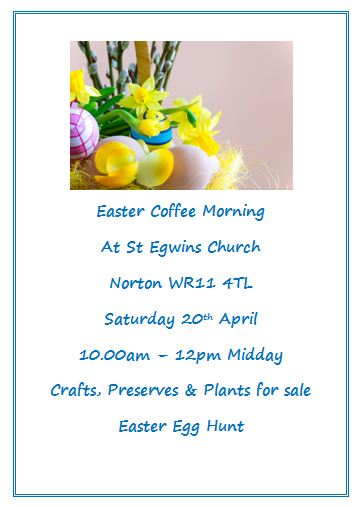 Easter Coffee Morning