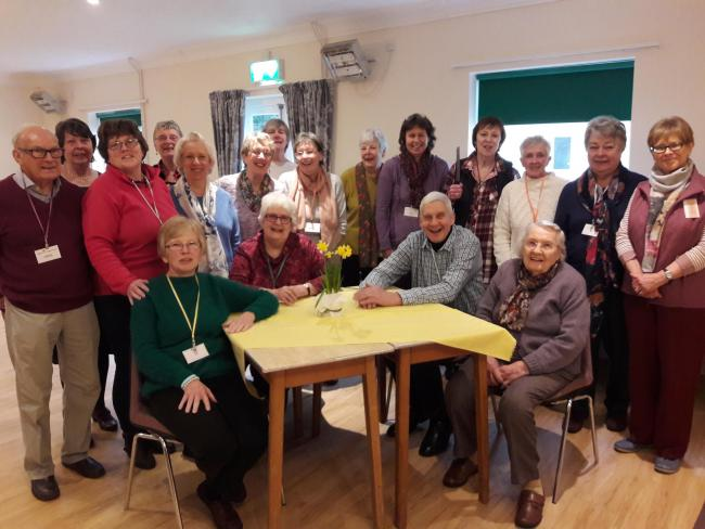 Members of the Ludlow Cancer Support Group