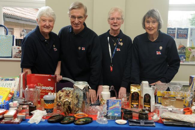 A table top sale was held at the Church Stretton United Reformed Church Hall organised by the Church Stretton Fundraising Branch of the RNLI. 