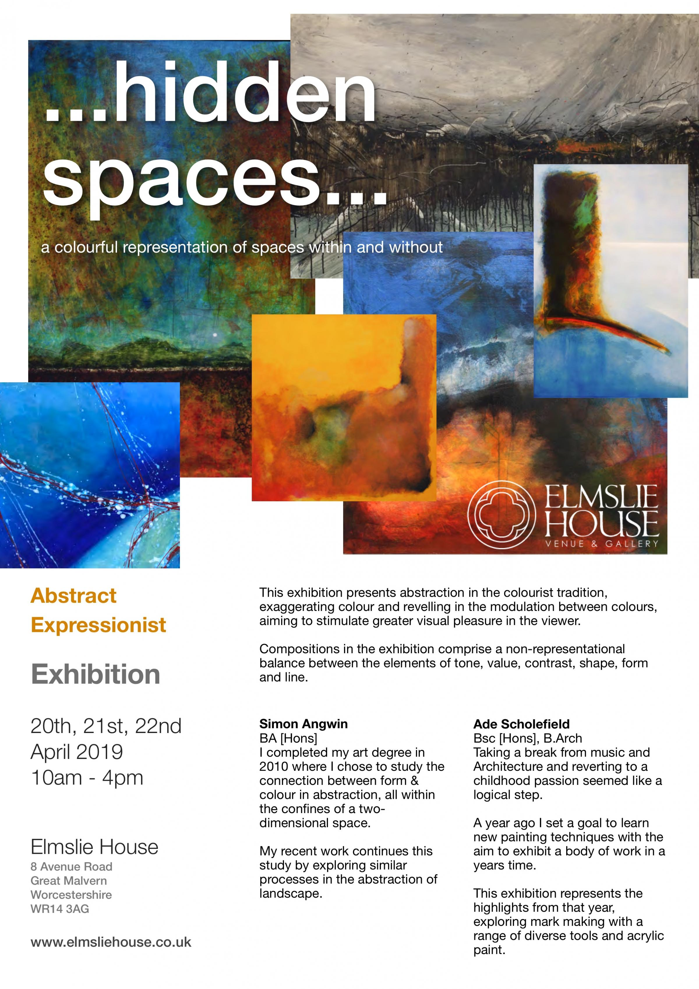 Abstract Expressionist Art Exhibition