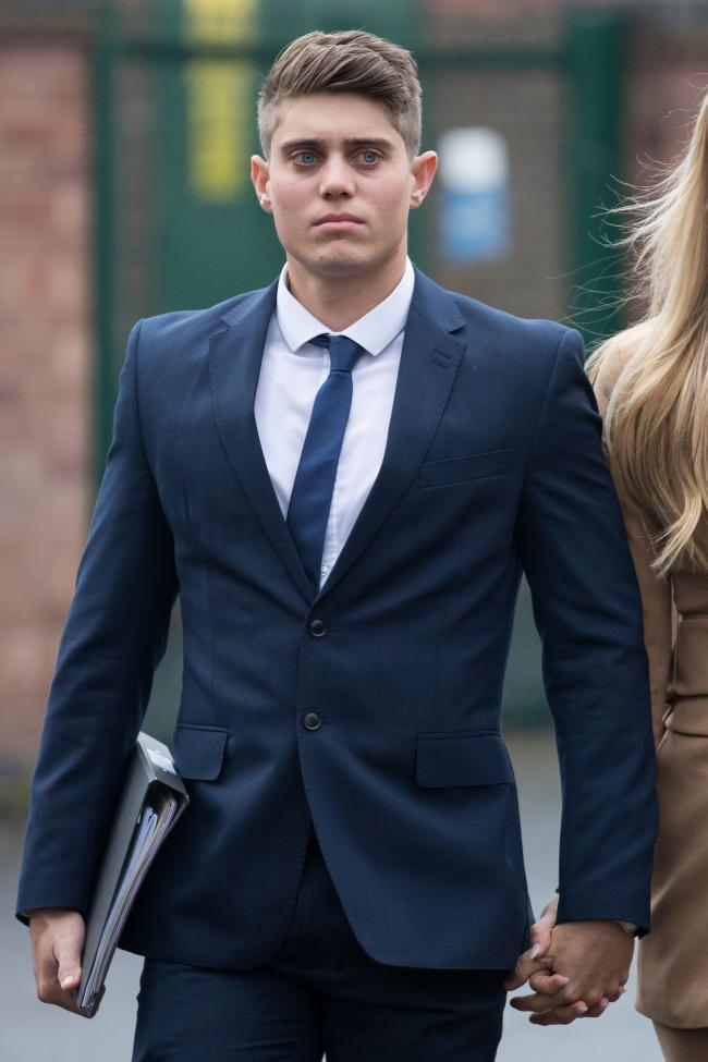 File photo dated 08/04/19 of Alex Hepburn. Jurors at Worcester Crown Court have begun a second day of deliberations in the retrial of the former Worcestershire cricketer. PRESS ASSOCIATION Photo. Issue date: Friday April 12, 2019. See PA story COURTS Cric