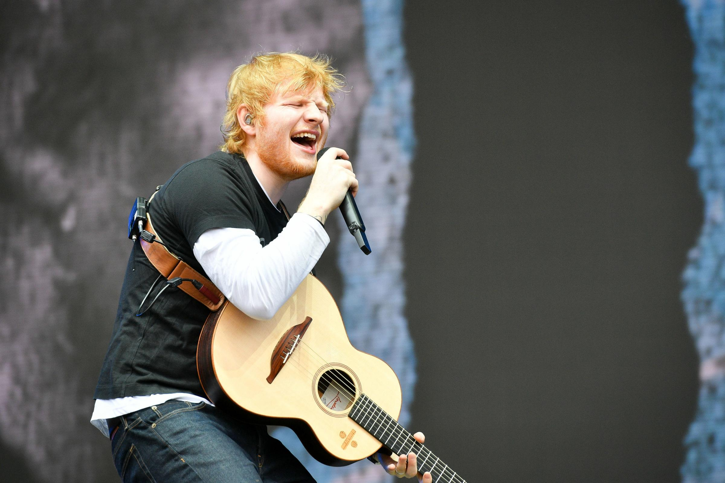 Ed Sheeran will break from his worldwide Divide Tour for the show on July 14