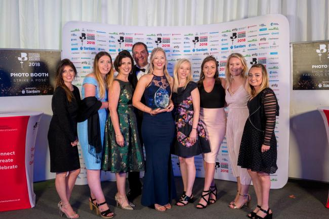 AWARDS: Winners at last year's Chamber of Commerce awards. Pic. Hamish Gill