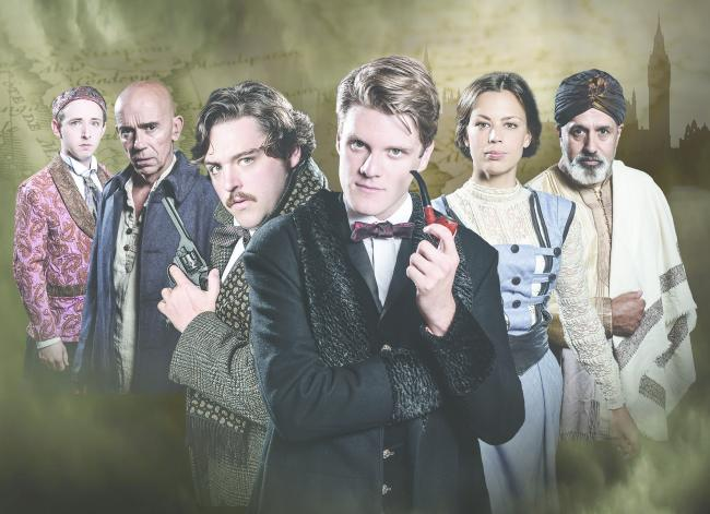 Blackeyed Theatre presents Sherlock Holmes: The Sign of Four at Malvern Theatres