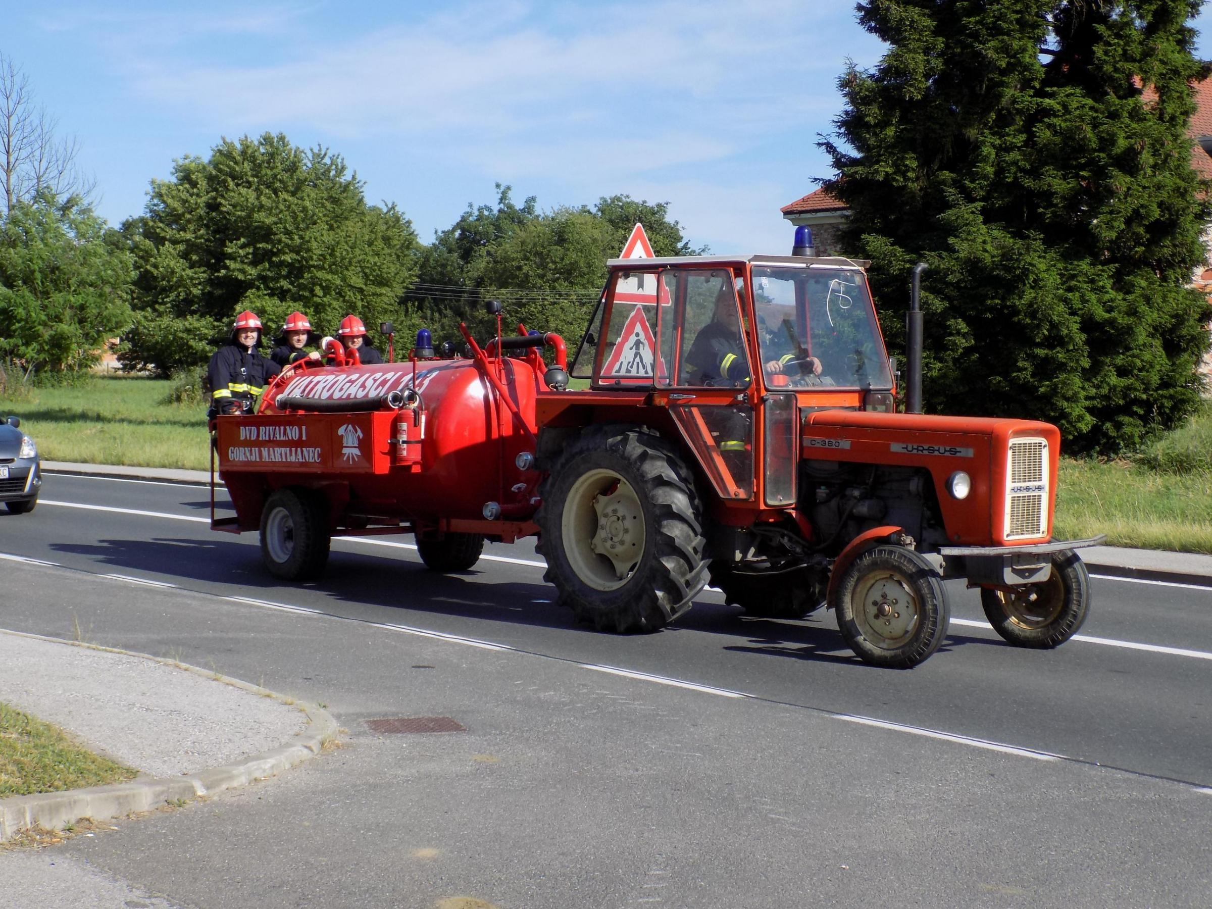 The fire engines will upgrade very basic firefighting capability in rural areas of Croatia.