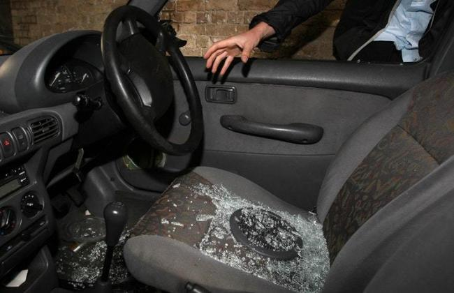 Two vehicles were broken into in the early hours of Monday morning in Bishop's Castle. Stock photo.