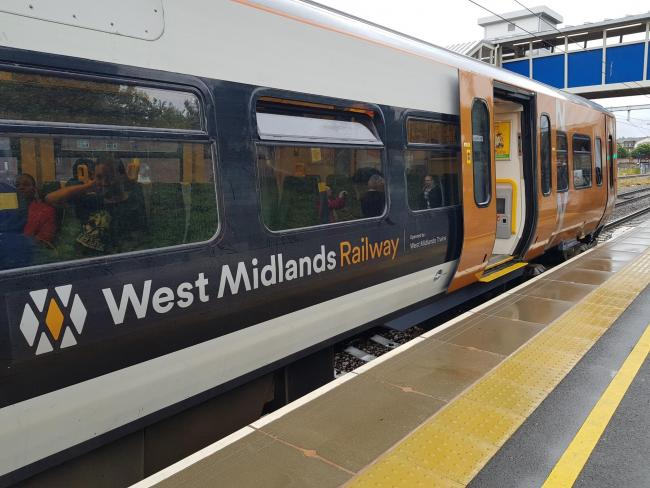Delays on West Midlands Rail services